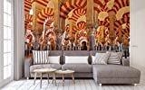 Fotomural Vinilo para Pared Mezquita Córdoba | Fotomural para Paredes | Mural | Vinilo Decorativo | Varias Medidas 150 x 100 cm | Decoración comedores, Salones, Habitaciones.