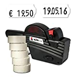 Preisauszeichner Set: Preisauszeichnungsgerät Blitz C6 für 26x12 inkl. 7.500 HUTNER Preisetiketten weiss permanent | etikettieren | HUTNER