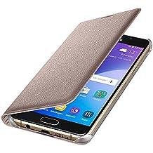 Samsung EF - WA310PBEGWW - Flip Wallet - Funda para Samsung A5 2016, Oro