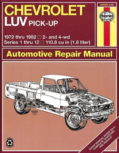 Chevrolet Luv Pick-Up (72 - 82) (Book No. 319)