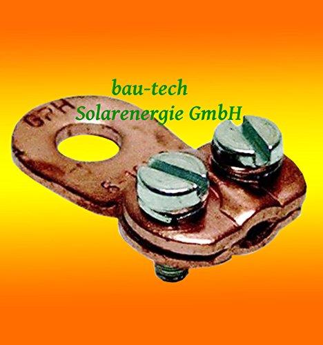 Kabelschuh Klemme 6 - 25mm² für Stromabel / Batteriekabel / Solarkabel von bau-tech Solarenergie GmbH