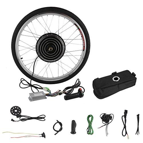 "CIMIVA E-Bike 26\"" Zoll Umbausatz Nachrüstsatz Ebike Conversion Motor Kit Pedelec, Elektrofahrrad Conversion Kit (Vorderrad Umbausatz/Hinterrad Umbausatz) (36V250W-Vorderrad Umbausatz)"