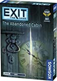 Image for board game Thames & Kosmos 814743012646 Kosmos 692681-EXIT-The, kennerspiel des jahres 2017, EXIT Abandoned Cabin | Level: Advanced | Unique Escape Room Game, 1-4 Players | Ages 12+ |