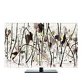 NACHEN TV-Staubschutz-Abdeckung LCD-hängende Staub-Abdeckung Fernsehapparat-Hauben-Gewebe-Haushalts-Waren Staubdichte Abdeckung , color 6 , 43