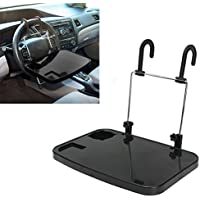 Soporte de pedestal portátil de coches plegable con bandeja para portátiles, tabletas, PC,
