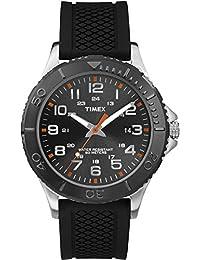 Timex - Reloj de cuarzo para hombres, color negro