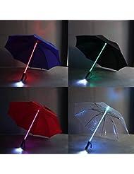 LED Flash Light Umbrella pour Night Protection Amusement Park