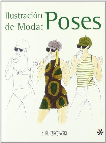 Ilustracion de moda: poses