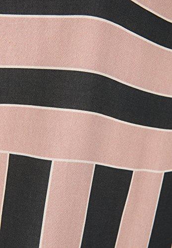 Cartoon Damen Shirt in Streifenoptik rosé/dark blue