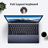 CHUWI HeroBook 14.1' Ordenador portatil hasta 2.0 GHz, Ultrabook Intel Atom X5-E8000,1920*1080p,Windows 10, 4G RAM 64G ROM, HD Video Port, M.2 Slot, WiFi, USB, RJ45,38Wh