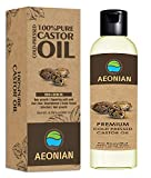 AEONIAN Cold Pressed Castor Oil, Hexane Free Boost Hair Growth for Hair, Eyelashes