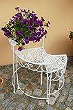 Pflanzentreppe Blumentreppe Blumenbank Blumenregal Garten Regal Blumenständer x4