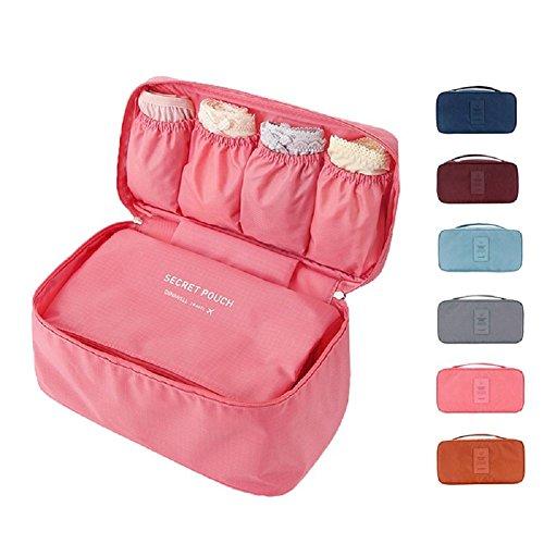 Ducomi® travel secret - borsa da viaggio - organizzatore viaggio unisex - misura: 26 x 13 x 12 cm (blue)