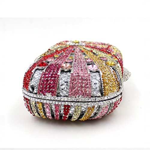 Sacchetto Di Mano Di Banchetto Di Lusso Di Alta Qualità Del Sacchetto Di Sera Di Diamante Delle Donne A