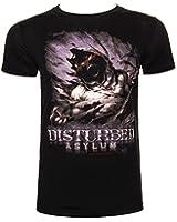 Disturbed Asylum T Shirt (Black)