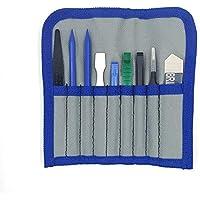 Kit de reparación de herramienta de palanca de apertura profesional con spudgers de nylon no abrasivos y pinzas antiestáticas Kit de herramientas de 8 piezas en bolsa