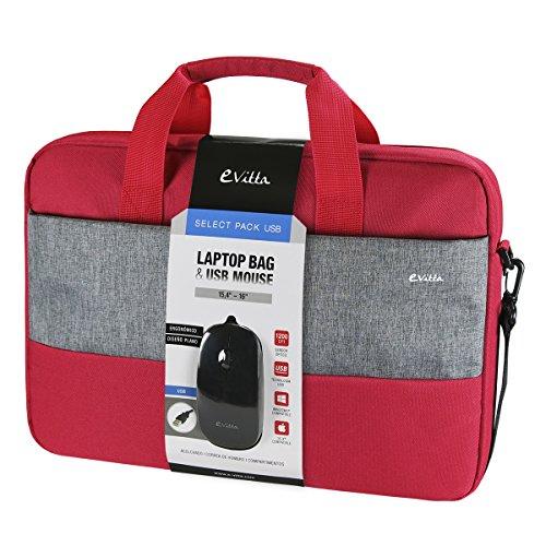 "Preisvergleich Produktbild 'e-vitta Select Pack USB 16""Koffer grau, rot–Taschen von Laptops (40,6cm (16), Koffer, grau, rot, monoton, staubgeschützt, kratzfest, 415mm)"