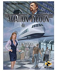 Mr. B Games MBG01023 Aviation Tycoon - Juego de Mesa (Contenido en alemán)