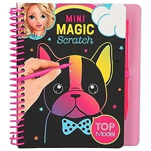 Depesche 10708 Mini Magic Scratch Book - Libro para Colorear