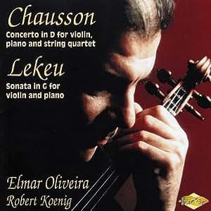 Music By Chausson,Lekeu