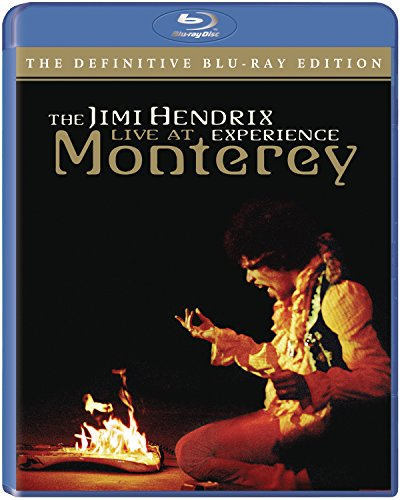 American Landing: Jimi Hendrix Experience Live At Monterey [Blu-ray] 511S4oJXNUL