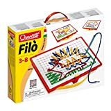 Quercetti 0570 - Juego para dibujar con hilos (incluye los hilos y las instrucciones) [importado de Alemania]