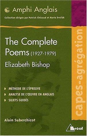 The Complete Poems (1927-1979) de Elizabeth Bishop
