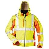 Elysee Original Visibility Warnschutz-Softshelljacke Adam Größe M gelb/orange