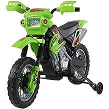 Moto Electrica Infantil Bateria 6V Recargable Niños 5 Años Cargador y ...