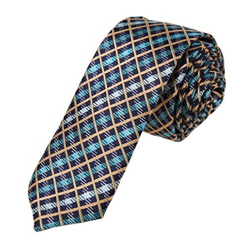 dae7c11a-blu-cyan-wheat-plaid-microfibra-skinny-cravatta-find-shopstyle-thin-cravatta-di-dan-smith