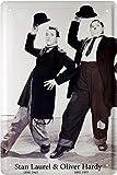 Laurel und Hardy Dick und Doof Blechschild 20 x 30 Retro Blech 1204