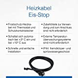 as – Schwabe 67010 2 m Heizkabel mit Thermostat, 30 Watt - 3