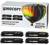 4x SinoCopy XXL Toner Set für Samsung CLP-680 1xBK,C,M,Y-BK 6.000 S.,Color je 3.500 S., kompatibel zu Samsung CLP-680 DW ND Series CLX-6260 FD FR FW ND - CLT-K506L C506L M506L Y506L