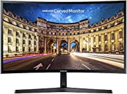 Samsung, LC27F398FWUXEN 27 Cali, Zakrzywiony Monitor Komputerowy, Czarny
