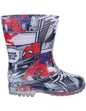 Botas de Agua con Luces de Spiderman 25