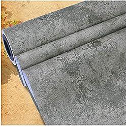TJLMCORP - Carta da parati muro di cemento, immagine texture di sfondo ad alta risoluzione - Fotomurale rimovibile   Carta da parati autoadesiva - 15,7 * 118 pollici (Color2)