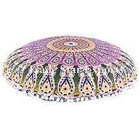 Grande indiano Ombre Mandala pavimento cuscini federe