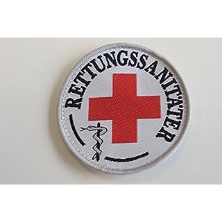 Rettungssanitäter-Abzeichen (Durchmesser ca 8,5cm), zum Aufkletten