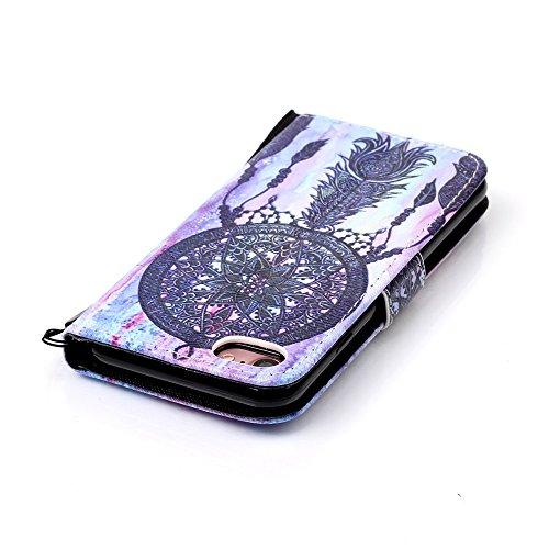 Apple iphone case XFAY HX-439 Portafoglio accessories elegante Bookstyle PU Pelle Case Cover Protettiva Flip Portafoglio Custodia Protezione Caso con Supporto di Stand / Carte Slot / Chiusura/ libro i colore-17