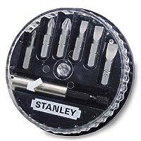 Stanley 1/68/737 Bits Uç Takımı, Sarı/Siyah, 1 Adet