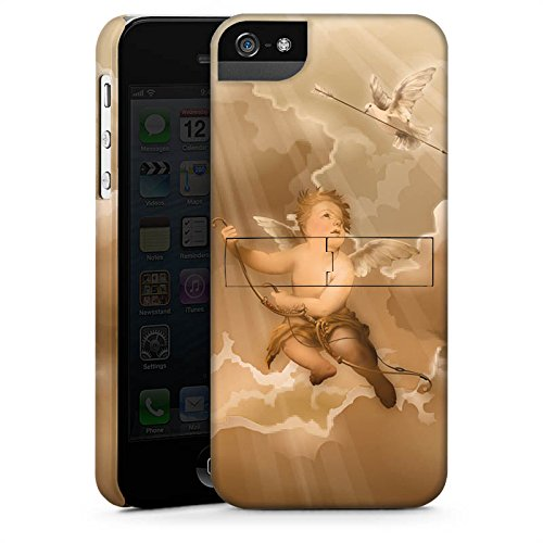 Apple iPhone X Silikon Hülle Case Schutzhülle Liebe Engel Amor Premium Case StandUp