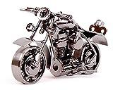 Junge Metall Motorrad Eisen Handwerk Weihnachten Geschenk , m37c black