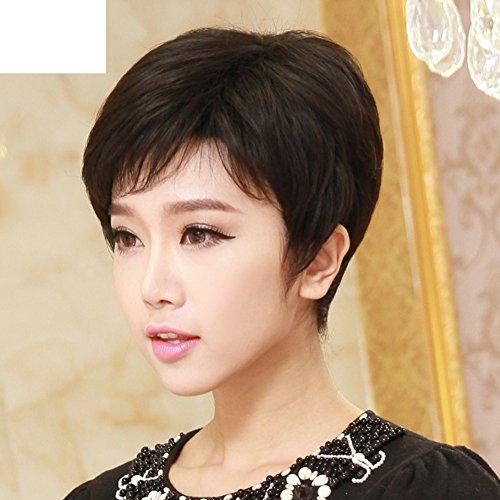 Alte kurze Haare/volle Perücke Perücken/shaggy kurze ()