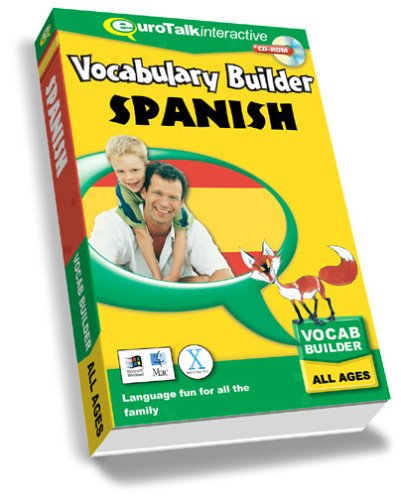 Vocabulary Builder Spanish: Language fun for all the family ? All Ages (PC/Mac)