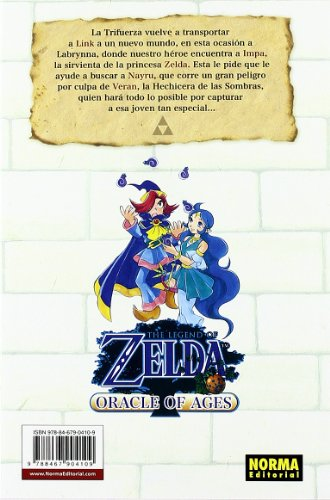 THE LEGEND OF ZELDA 07: ORACLE OF AGES (CÓMIC MANGA)