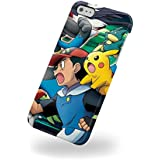 Funda Carcasa Dura Rígida Pokemon Manga para Iphone 5 y 5s