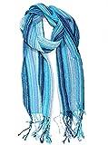 Gamboa - Warm und Weich Alpaka Schal– Gestreiftes Design. Erhältlich in verschiedenen Farben