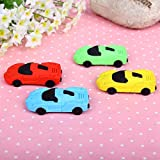 #7: Newest Imported Cute Car Look Eraser – B'day Return Gift Party Idea For Kids Birthday (12 Pcs. /lots)