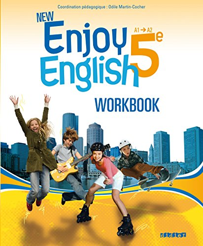 New Enjoy English 5e - Workbook par Elodie Vialleton