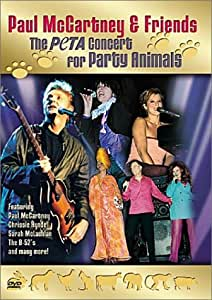 Paul McCartney & Friends - The PETA Concert for Party Animals [Import USA Zone 1]